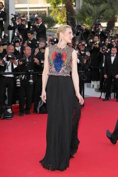 CATE BLANCHETT Wearing Givenchy in 2014.