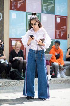 On the street at Berlin Fashion Week. Photo: Chiara Marina Grioni.