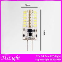 Wholesales, 42 pcs 5630SMD 3W G4 Type LED Bulb Light. AC/DC12V . Replace 40Watt Halogen Bulb.Warm White Cold White 50pcs/lot