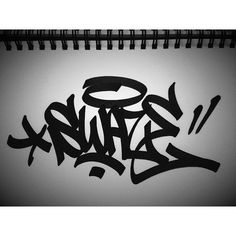 super clean Swaze ( with the chisel-tip. Chicano Lettering, Graffiti Lettering Fonts, Graffiti Writing, Graffiti Tagging, Graffiti Alphabet Styles, Graffiti Styles, Arte Hip Hop, Hip Hop Art, Graffiti Piece