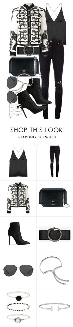 """Untitled #20778"" by florencia95 ❤ liked on Polyvore featuring Dion Lee, Closed, Dolce&Gabbana, Givenchy, Baldwin, Yves Saint Laurent, Michael Kors, Monica Vinader and Accessorize"