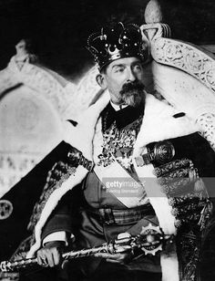 King Ferdinand I of Romania - in the year of his coronation. Royal Crowns, Royal Jewels, Ferdinand, Queen Mary, King Queen, History Of Romania, Romania People, Romanian Royal Family, Transylvania Romania