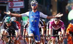Gaviria logra, en casa de Nibali, su segunda etapa en el Giro