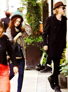 Jamily- jamie campbell bower and lily collins