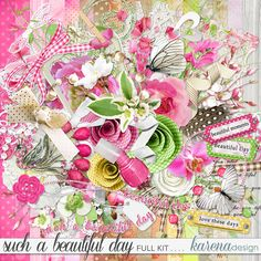Beautiful Day, Digital Scrapbooking, Gift Wrapping, Shop, Gifts, Collection, Design, Gift Wrapping Paper, Presents