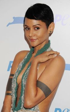 Persia White Hairstyles the big chop