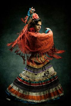 So gypsy-ish. Tribal skirt