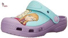 Crocs Frozen Iris, Sabots fille, Violet (Iris), EU 19-21, (US C4C5) - Chaussures crocs (*Partner-Link)