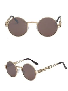 60cd7f47cee Vintage Cartier style PANTHERE Sunglasses Frame 18K Gold