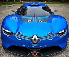 Alpine introduce the most beautiful and powerful car, the Alpine A 110 Berlinette, 50 years ago. The same concept with new technologies has been unveiled by Renault to celebrate 50 years of A 110.