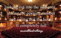 One of the many great feelings of being on stage Theatre Nerds, Musical Theatre, Theater, Musicals, Broadway, Stage, Feels, Kid, Dance