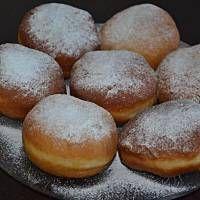Pavlova, Donuts, Hamburger, Bread, Food, Recipes, Buns, Bakken, Frost Donuts