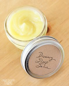 """Make Your Own Sleep Salve For """"Sweet Dreams"""" and Soft Feet!"""
