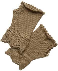 Victorian Fingerless Gloves Pattern - Free Knitting Patterns by Kerin Dimeler- Laurence
