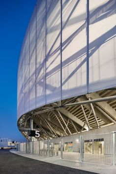 Stade Vélodrome in Marseille features a new roof by SCAU