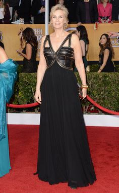 Jane Lynch at the 2013 SAG Awards in a David Meister gown