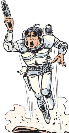 Valerian (and Laureline graphic novels) jetpack and pistol. From http://www.writeups.org/valerian-and-laureline-french-comics/