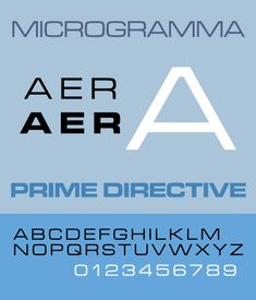 Microgramma is a sans serif font designed by Aldo Novarese and Alessandro Butti for the Nebiolo Type Foundry in 1952.