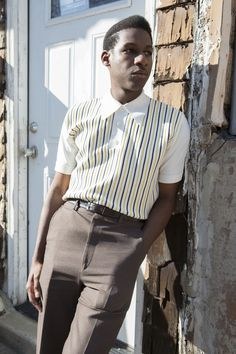 Leon Bridges by Alex Reside for InStyle.com