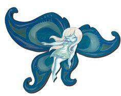Snow Fairy by Miss Mindy Allen - http://www.missmindy.com/MM_site_2/portfolios/fairyland_art/index.html