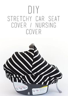 do it yourself divas: DIY Stretchy Carseat Cover