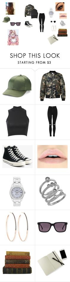 """Bad girl"" by supernatural-dean-677 on Polyvore featuring Mudd, Pilot, Topshop, Converse, Rolex, Cole Haan, Lana, Steven Alan and Moleskine"