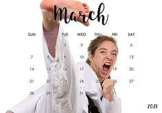 @BlackBeltImage Karate Girl, Art Calendar, Martial Arts, Sports, Fashion, Fine Art, Girls, Hs Sports, Moda