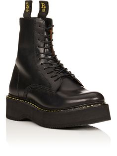 R13 Women's Single Stacked Leather Boots | Barneys New York