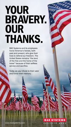 National Military Appreciation Month ad