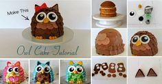 How To Make An Owl Cake | IKEA Decoration