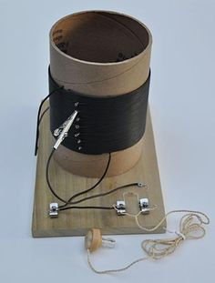 "A radio that doesn't need a battery or plug? In the ""Build Your Own Crystal Radio"" electricity and #electronics #science project students build a working crystal radio and investigate how to improve it.  A convenient project kit is available to do this science project! [Source: Science Buddies, http://www.sciencebuddies.org/science-fair-projects/project_ideas/Elec_p014.shtml?from=Pinterest] #STEM #scienceproject"