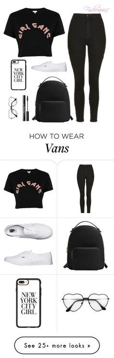 """""""This is the only difference"""" by fashionova1 on Polyvore featuring River Island, Topshop, MANGO, Vans and Casetify"""