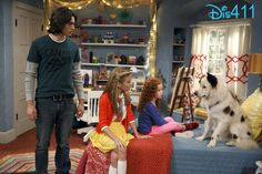 """""""A New Baby?"""" - Avery, Tyler and Chloe react to the news, when Stan overhears a conversation between Ellen and Bennett about a possible new addition to G Hannelius, Dog With A Blog, Disney Dogs, Disney Channel, My Room, New Baby Products, Fun House, July 14, Cute"""