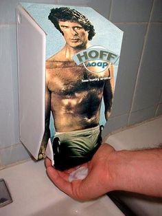 The Hoff Soap Dispenser