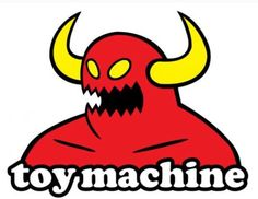 Toy Machine Skateboard Brand Logo