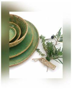 Farmhouse Dinnerware Set, Rustic Handmade Ceramic Dinner Set, Turquoise Ceramic Place Setting Shop today 👍 Farmhouse Dinnerware Sets, Rustic Dinnerware, Handmade Ceramic, Handmade Pottery, Ceramic Dinner Set, Ceramic Spoons, Plates And Bowls, Dinner Sets, Rustic Design