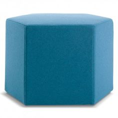 $229 each, multiple colors, fun modern piece to echo hexagons elsewhere in the apt, use 2 or 3 in den?