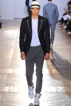 Sportswear done right! Viktor & Rolf #spring13 #menswear