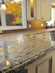 Nice Picture Of Granite Countertop With An Ogee Edge