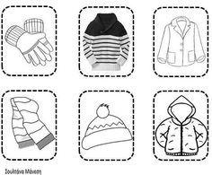 Δραστηριότητες, παιδαγωγικό και εποπτικό υλικό για το Νηπιαγωγείο: Χειμώνας στο Νηπιαγωγείο: Πίνακας Αναφοράς και Φύλλο Εργασίας για τα Χειμερινά Ρούχα