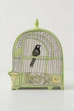 Trompe L'Oeil Birdhouse, Oriole - Anthropologie.com