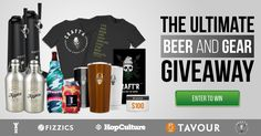 The BEST craft beer accessory companies have teamed up for this fantastic giveaway. We will be choosing 10 WINNERS on Nov 3rd for these incredible prizes!!