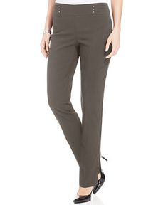 JM Collection Studded Pull-On , Created for Macy's - Pull On Pants - SLP - Macy's