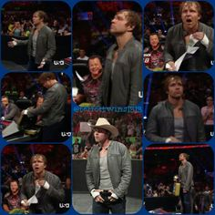 Dean Ambrose is so talented on the microphone/promos, as well as in the ring. THAT WAS SEXY!