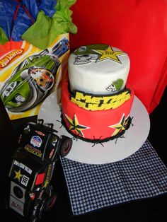 Metal Mulisha birthday cake.  Sweet tooth. Hot wheels.
