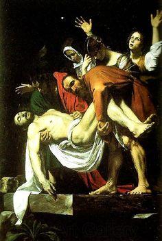 Theodore   Gericault la mise au tombeau