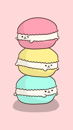 Pan kitty macaroons More