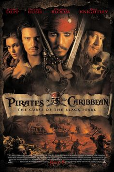 Pirates of the Caribbean: The Curse of the Black Pearl. March 24, 2017. Netflix.
