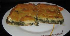 Ελληνικές συνταγές για νόστιμο, υγιεινό και οικονομικό φαγητό. Δοκιμάστε τες όλες Flan, Quiche, Greek Sweets, Spanakopita, Greek Recipes, Food And Drink, Pizza, Baking, Breakfast