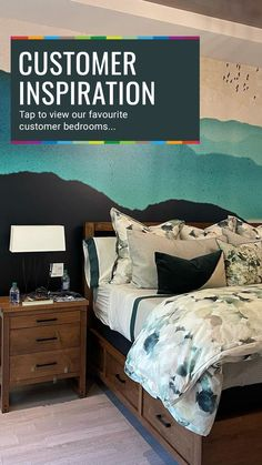 Take a look at these beautiful bedroom decor ideas, perfect for creating a relaxing sleeping space. From teal green and light blue colour schemes and peacock motifs, to luxury marble geodes and pretty floral wallpaper, there is something everyone will love in their bedroom! Find your perfect bedroom wallpaper at Wallsauce.com! #bedroomwallpaper #wallpaper #bedroomdecor #bedroominspo Bedroom Inspo, Bedroom Decor, Blue Color Schemes, Light Blue Color, Teal Green, Beautiful Bedrooms, Finding Yourself, Wallpaper, Inspiration